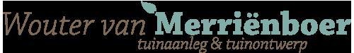 Wouter van Merriënboer • tuinaanleg & tuinontwerp Huizen Logo